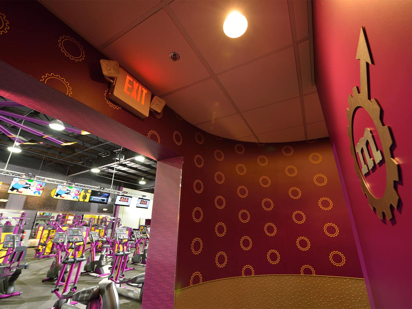 Planet Fitness - Interior Signage and Wall Covering