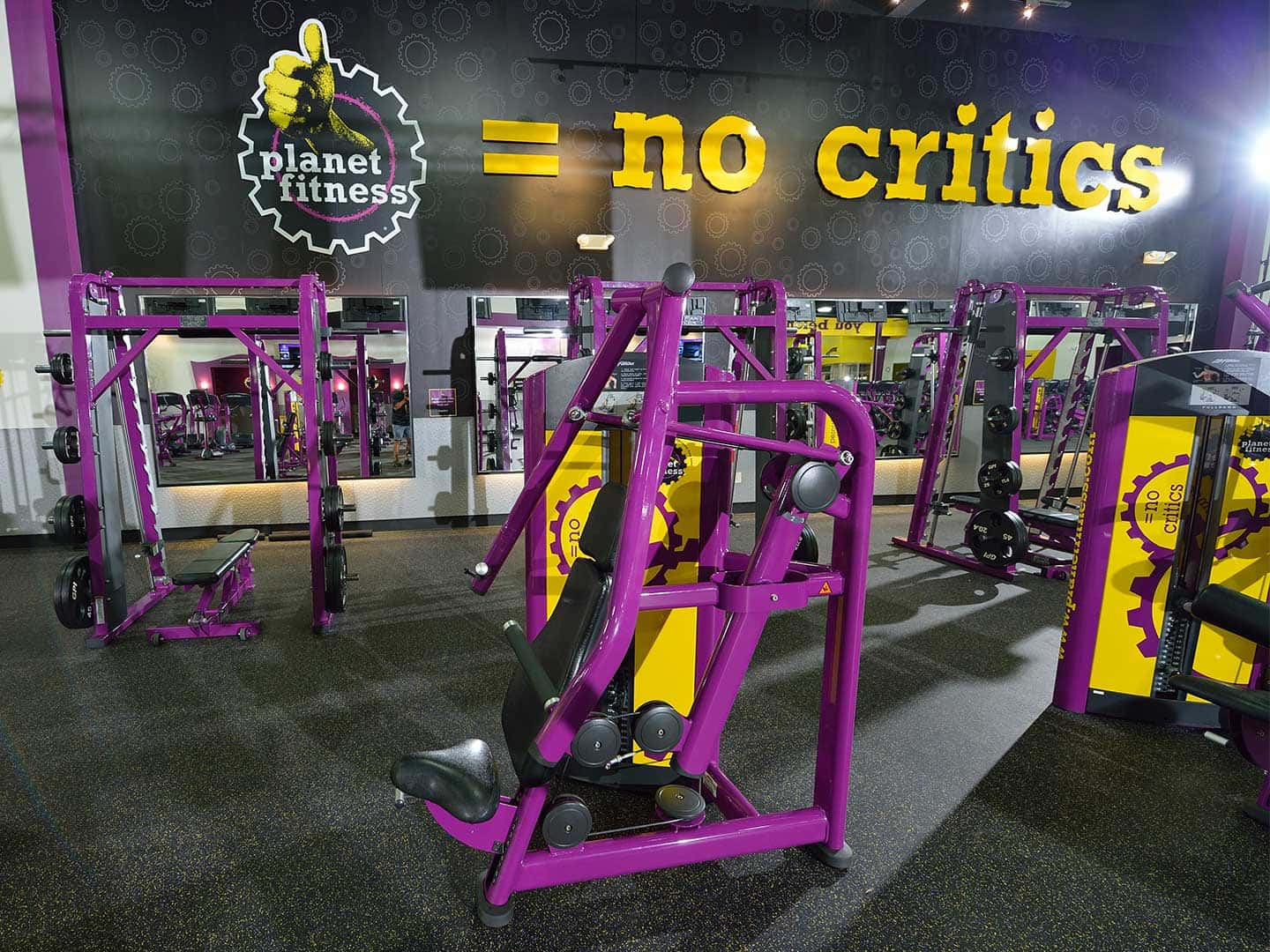 Planet Fitness - cut letters