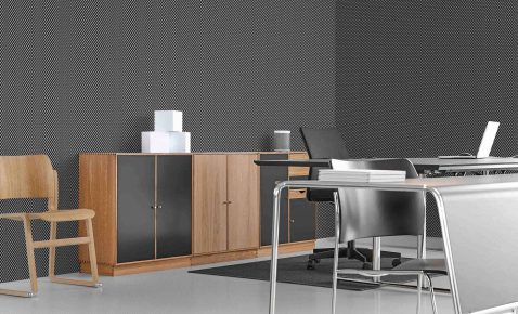Wallcovering in Office Setting